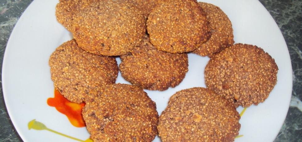Kakaowe ciasteczka z amarantusem (autor: mama