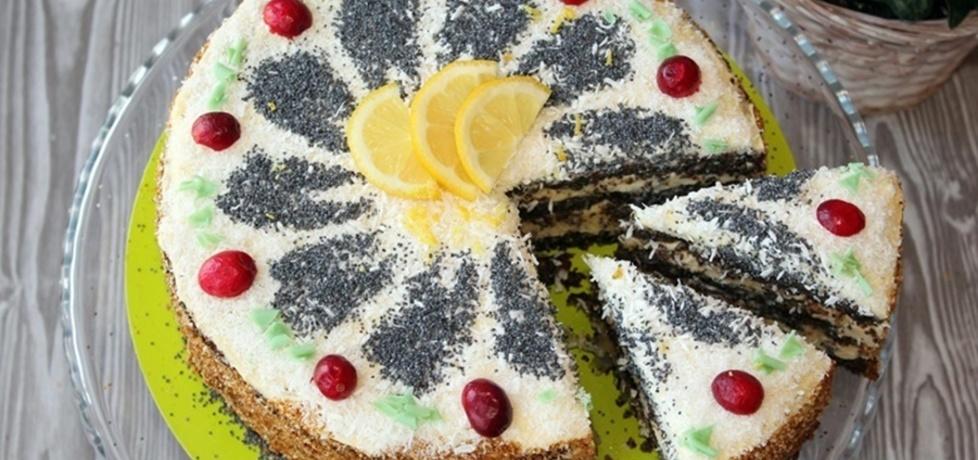 Tort z masy makowej (autor: diana-rusilowicz)