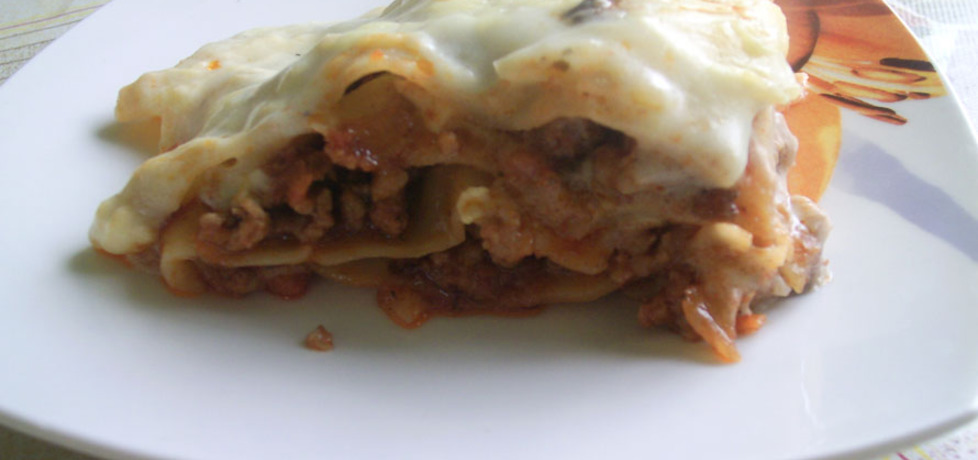 Lasagne mięsne (autor: ewasylwia)
