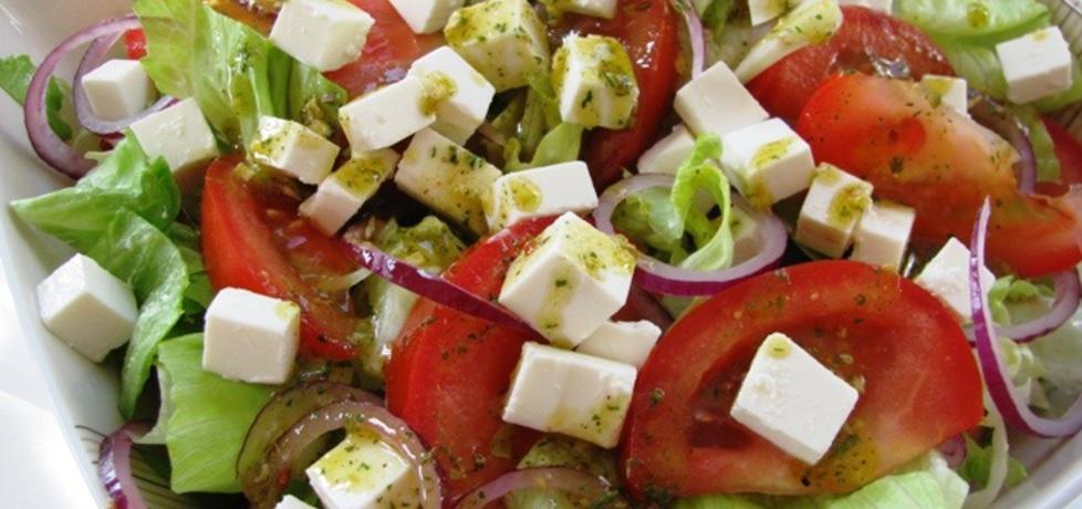 Sałatka grecka na szybko (autor: panimisiowa)