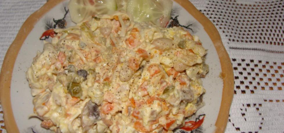 Sałatka z ryżem (autor: agnieszka214)