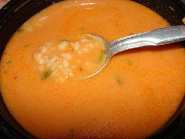 Przepis  pomidorowa z ryżem przepis
