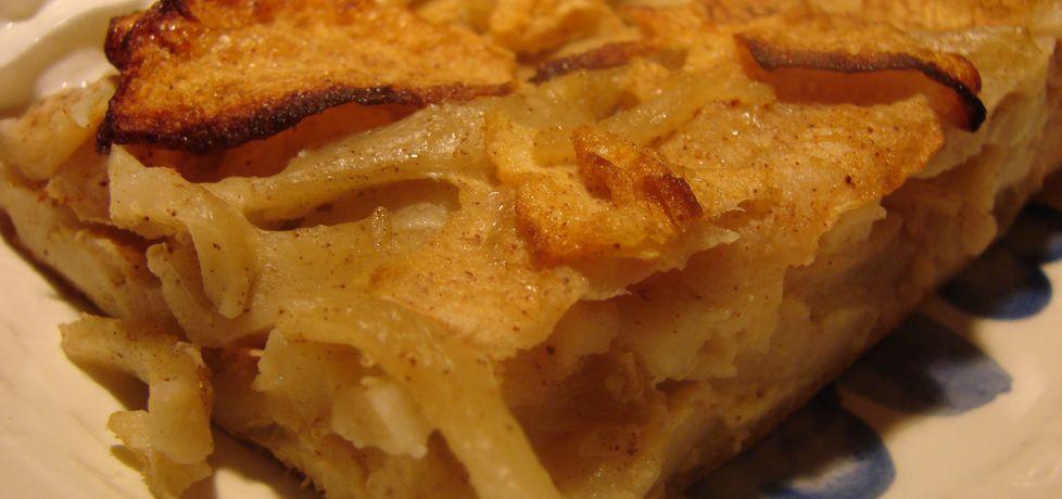 Domowy makaron z jabłkami (autor: katarzyna40)