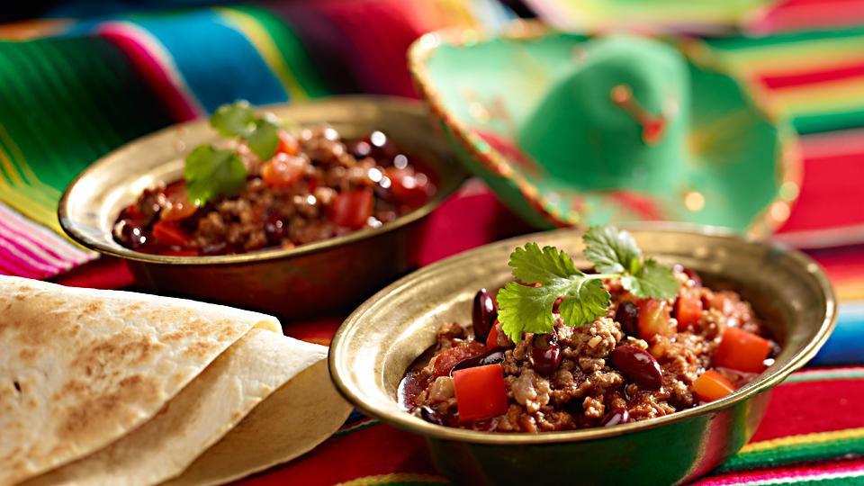 Przepis na meksykańskie chili con carne