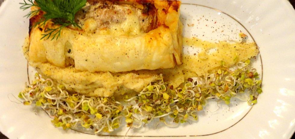 Filet makreli z mozzarellą w cieście francuskim (autor: rafal10 ...