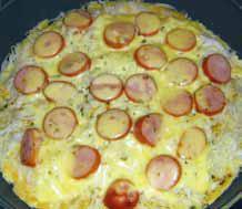 Makaronowy omlet