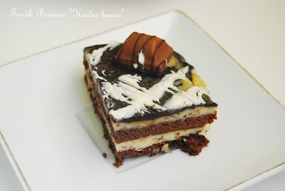 "Torcik brownie ""kinder bueno"""
