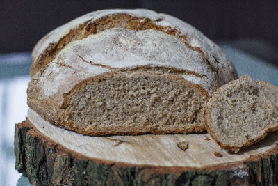 Chleb na zakwasie. orkiszowo