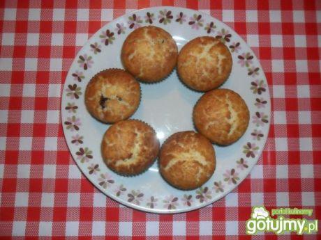 Przepis  muffinki z powidłami przepis