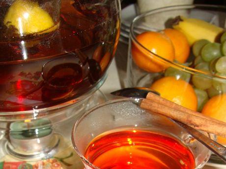 Przepis  herbaciany poncz z rumem przepis
