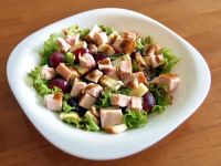 Przepis  sałatka z kurczakiem i winogronem przepis