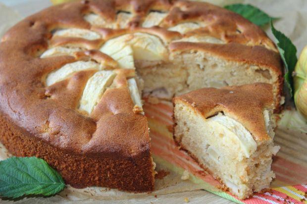 Przepis  marcepanowe ciasto z jabłkami przepis