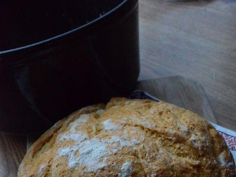 Przepis  chleb biały z garnka żeliwnego przepis