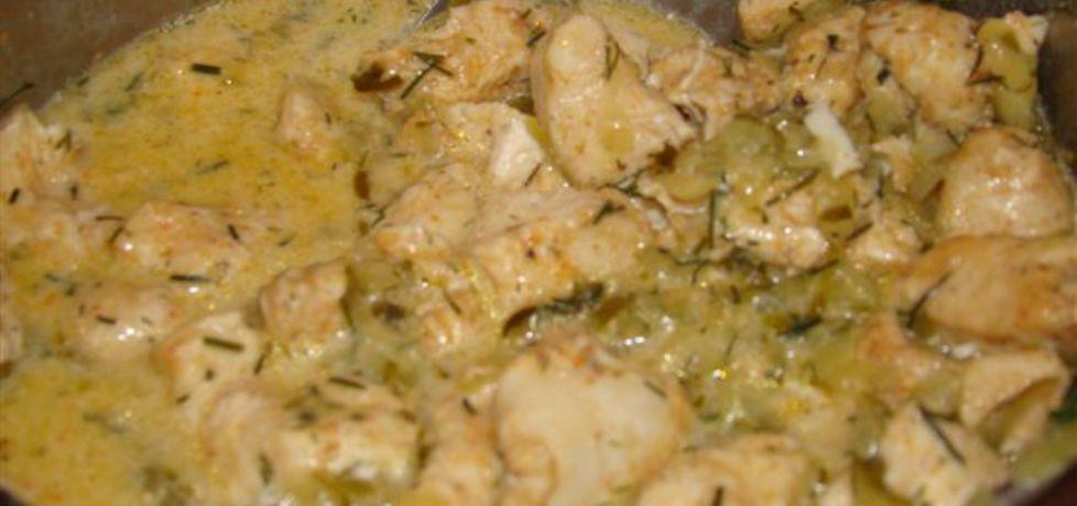 Pierś z kurczaka w sosie ogórkowym (autor: katarzynakate1980 ...