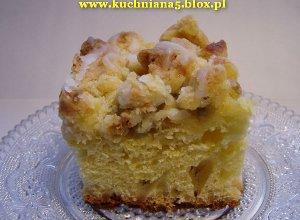 Ciasto drożdżowe z rabarbarem  prosty przepis i składniki
