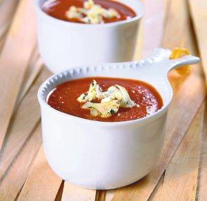 Krem pomidorowy z kalafiorem  prosty przepis i składniki