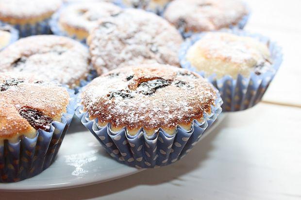 Przepis  muffiny cytrynowe z rodzynkami przepis