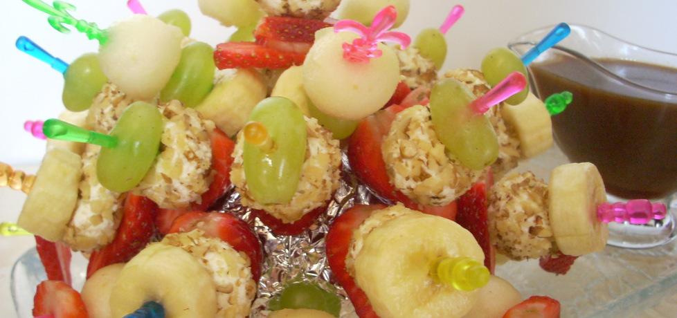 Koreczki owocówki