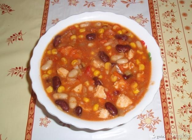 Potrawka meksykańska.