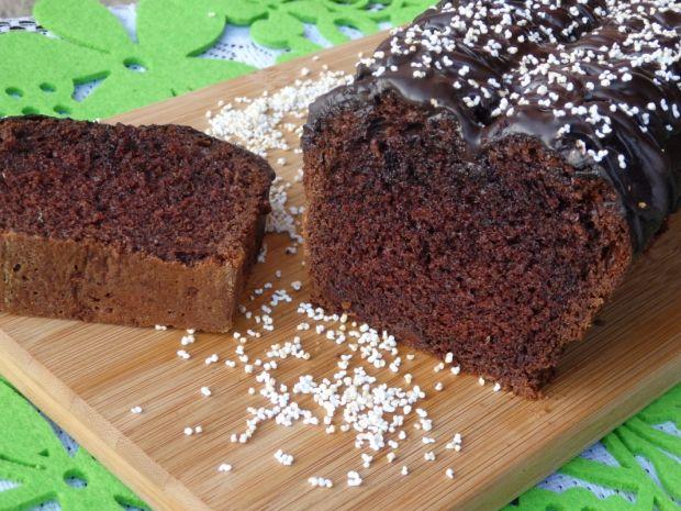 Przepis  ciasto mocno czekoladowe przepis