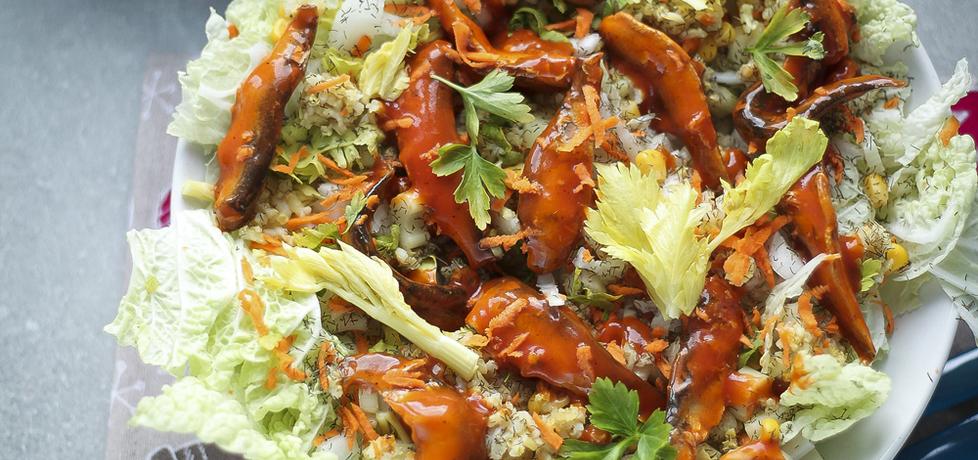 Sałatka z pomidorowymi szprotkami (autor: dorota20w ...