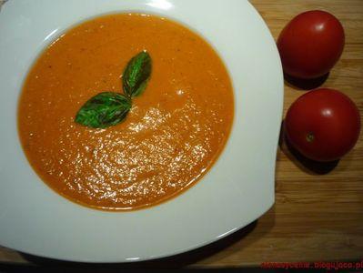 Krem pomidorowy z fetą