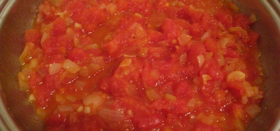 Pomidory smażone z cebulką (autor: magda60)