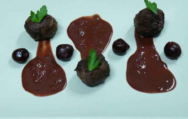 Przepis  klopsiki z wątróbki sosie czekoladowo
