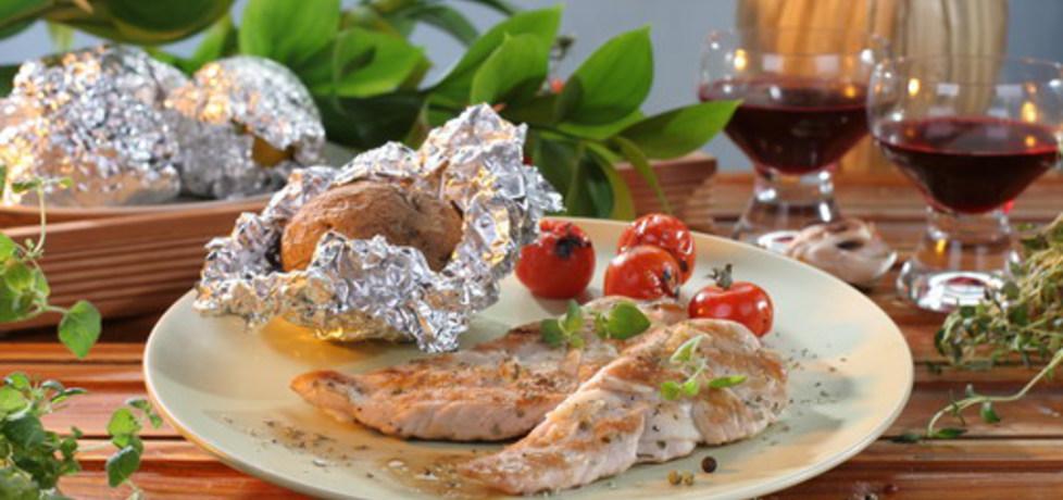 Grill: pierś z kurczaka z majerankiem (autor: doradca