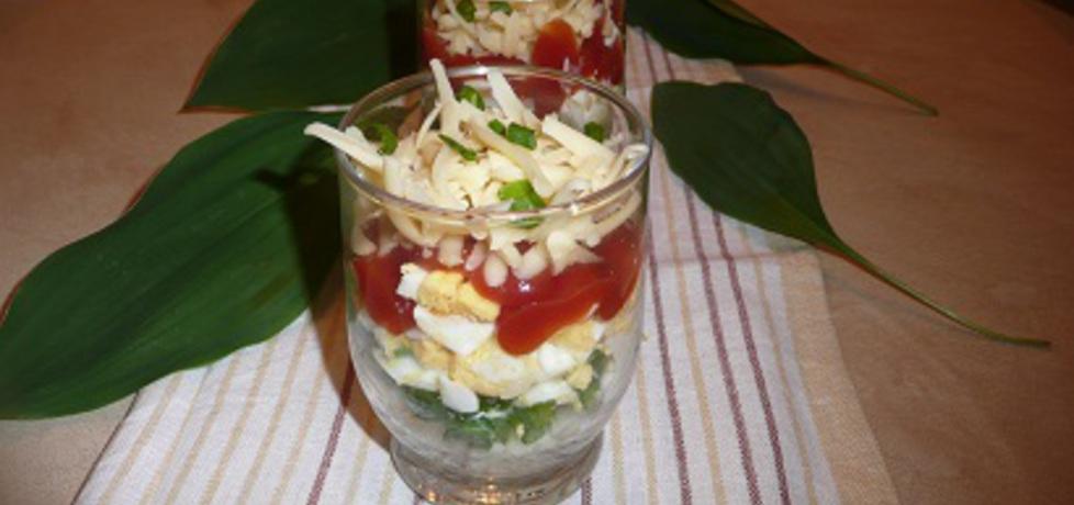 Sałatka w szklankach (autor: aginaa)