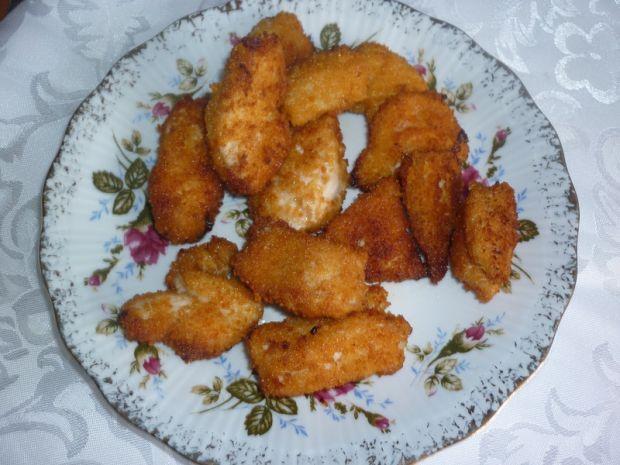 Przepis  pikantne nugetsy z kurczaka przepis