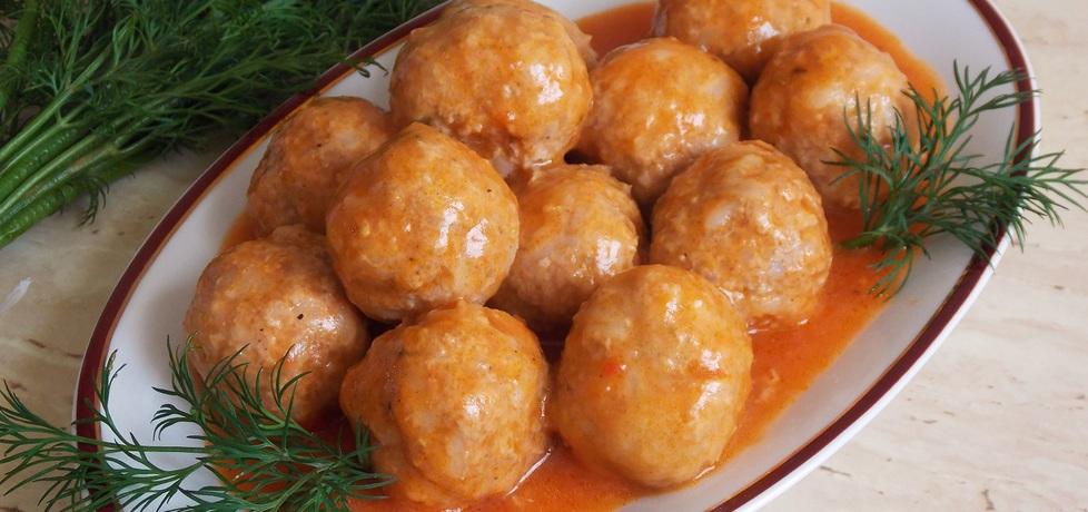 Pulpety z ryżem w sosie pomidorowym (autor: jagoda17 ...