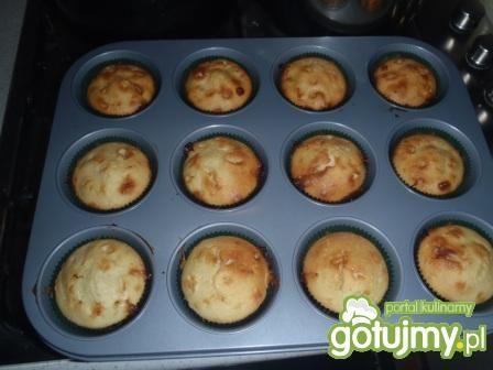 Przepis  muffinki cytrynowe z białą czekoladą przepis
