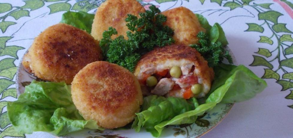 Kulki ryżowe nadziewane mięsem i papryką (autor: bernadeta1 ...