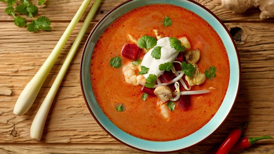 Przepis na zupę tajską