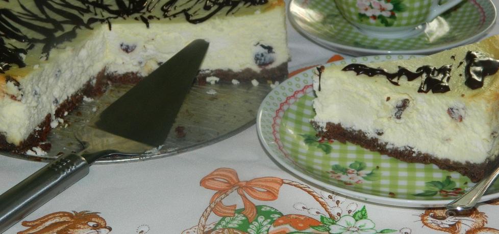 Wielkanocny sernik na herbatnikowym spodzie (autor: bietka ...