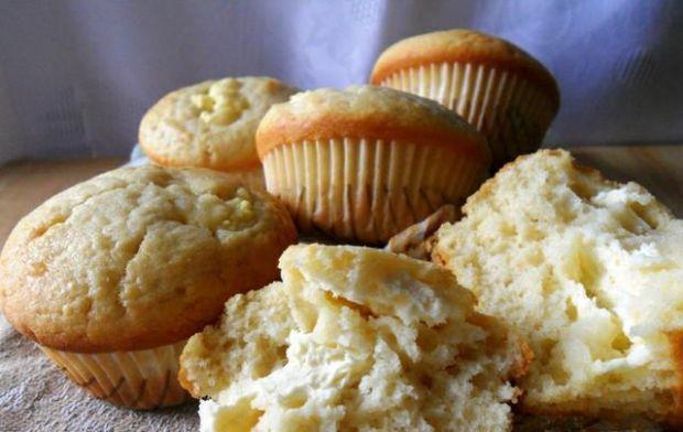 Przepis  muffiny z serem twarogowym przepis