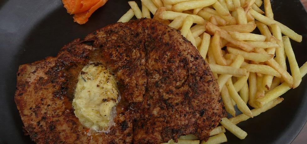Grillowane pierś z kurczaka z masełkiem czosnkowym (autor: aginaa ...