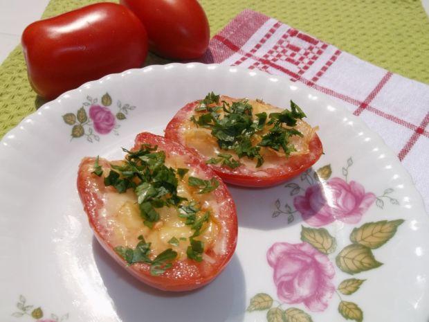 Przepis  pomidory smażone z serem żółtym przepis