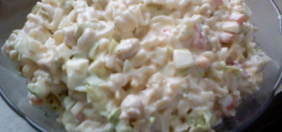 Sałatka z kurczakiem i makaronem (autor: mar3sta ...