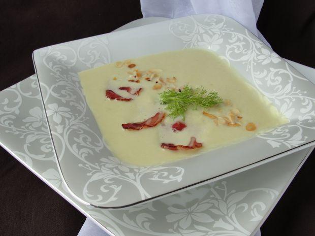 Przepis  zupa z kopru włoskiego z cukinią przepis