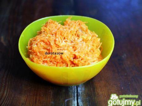 Przepis  surówka z marchewki i mango przepis