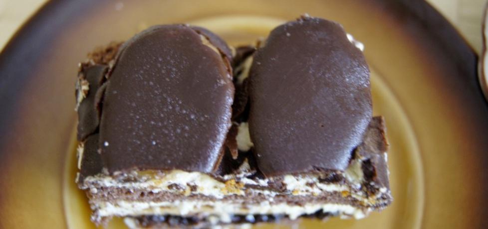 Placek czekoladowy z bananami (autor: kikiriki)