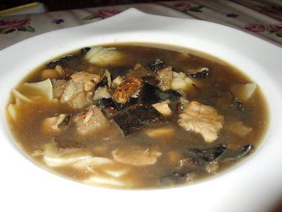 Zupa grzybowo