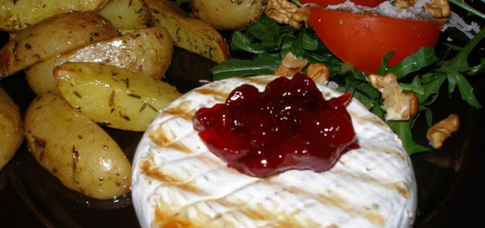 Grillowany camembert z żurawiną (autor: marchiochakucharzy ...