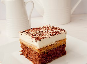 Ciasto z kremem krówkowym- przepis blogera