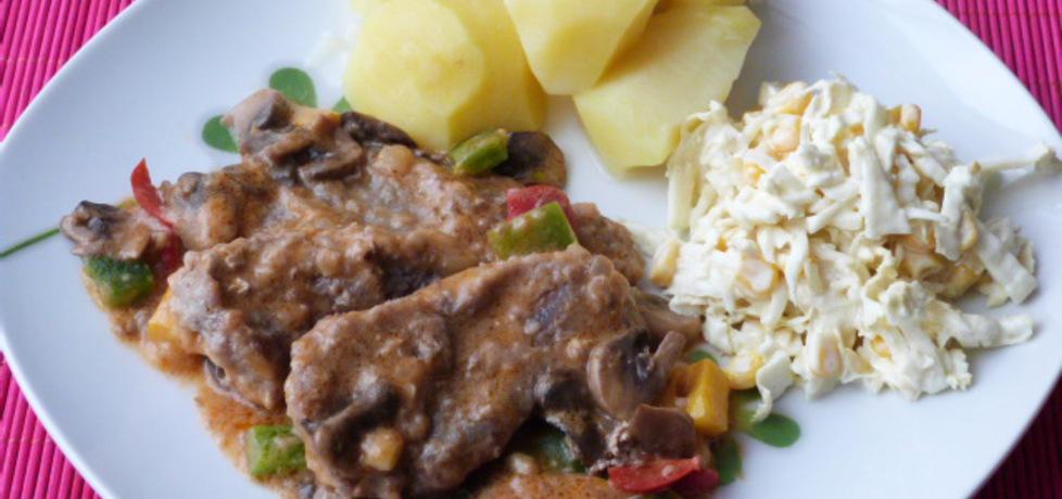 Bitki wieprzowe w warzywnym sosie (autor: renatazet ...