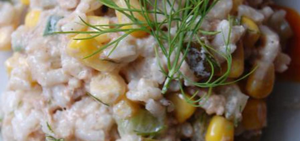Sałatka ryżowa z tuńczykiem i koperkiem (autor: aleksandraolcia ...