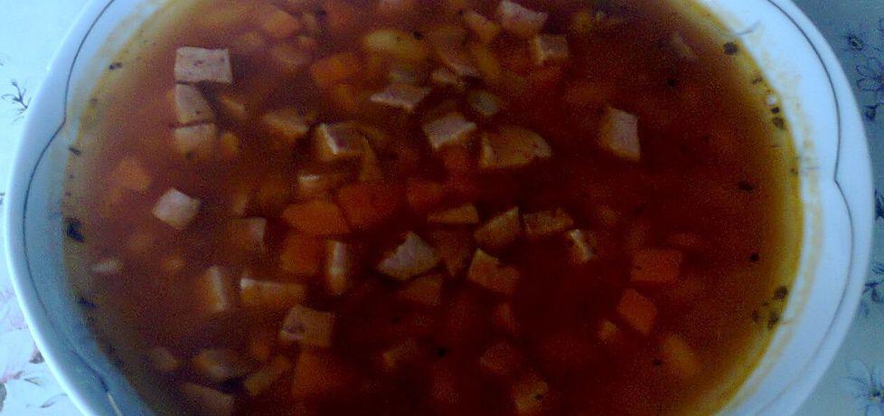 Zupa z dodatkiem fasoli (autor: reda)