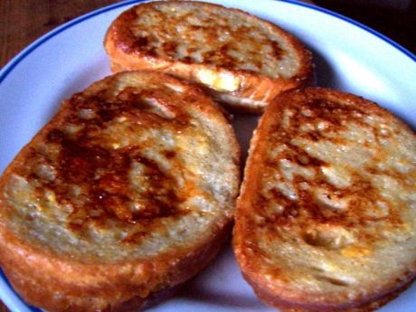 Przepis  tosty maczane w mleku przepis